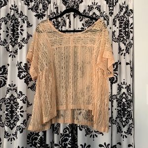 Free people, lace top